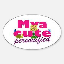 Cute Mya Decal