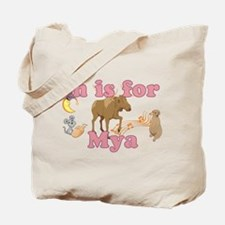 M is for Mya Tote Bag