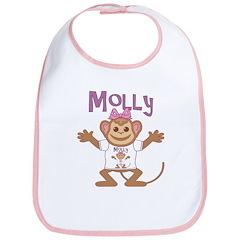 Little Monkey Molly Bib