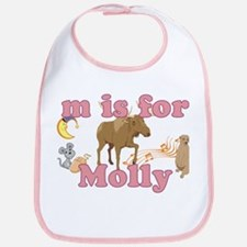 M is for Molly Bib