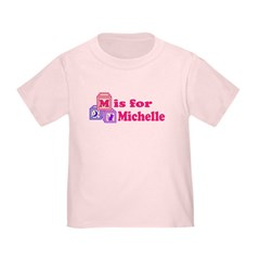 Baby Name Blocks - Michelle T