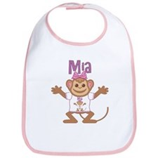 Little Monkey Mia Bib