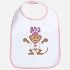 Little Monkey Mia Bib