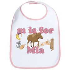 M is for Mia Bib