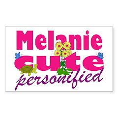 Cute Melanie Decal