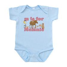 M is for Melanie Infant Bodysuit