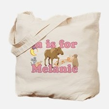 M is for Melanie Tote Bag