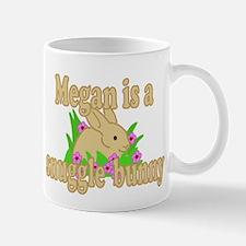 Megan is a Snuggle Bunny Mug