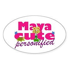 Cute Maya Decal