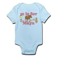 M is for Maya Infant Bodysuit