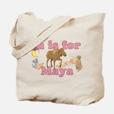 M is for Maya Tote Bag