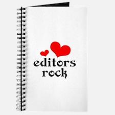 editors rock (red/black) Journal