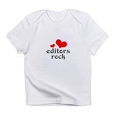 editors rock (red/black) Infant T-Shirt