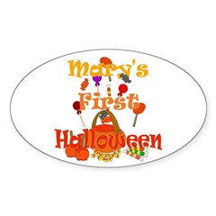 First Halloween Mary Decal