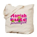 Cute Mariah Tote Bag