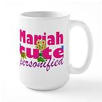 Cute Mariah Large Mug