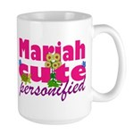 Cute Mariah Large Mug