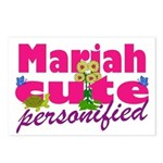 Cute Mariah Postcards (Package of 8)