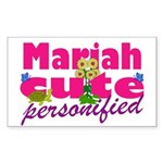 Cute Mariah Sticker (Rectangle)
