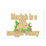 Mariah is a Snuggle Bunny Postcards (Package of 8)