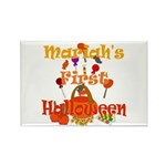 First Halloween Mariah Rectangle Magnet