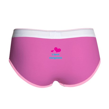 i love surgeons (pink/blue) Women's Boy Brief