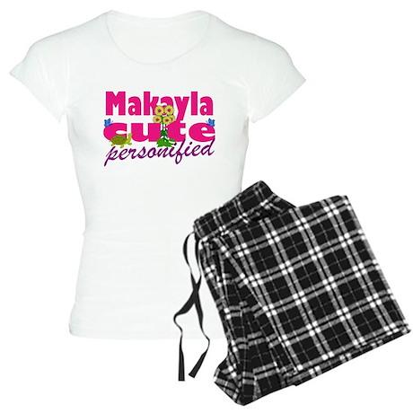 Cute Makayla Women's Light Pajamas