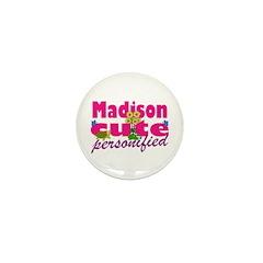 Cute Madison Mini Button