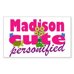 Cute Madison Decal