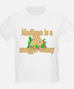 Madison is a Snuggle Bunny T-Shirt