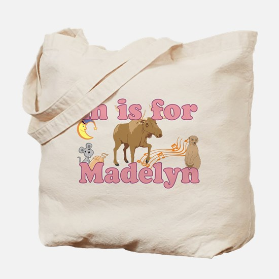 M is for Madelyn Tote Bag