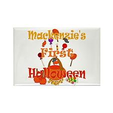 First Halloween Mackenzie Rectangle Magnet