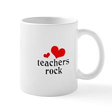 teachers rock (red/black) Mug