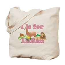L is for Lillian Tote Bag