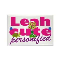 Cute Leah Rectangle Magnet (100 pack)