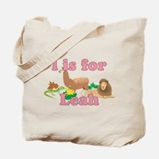 L is for Leah Tote Bag