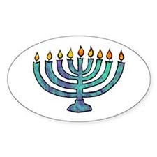 Menorah Decal