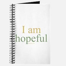 I am hopeful Journal