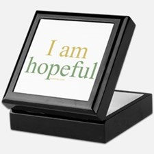 I am hopeful Keepsake Box
