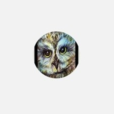 Owl, nature lovers, stunning, Mini Button