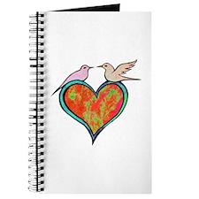 Birds on Heart Journal