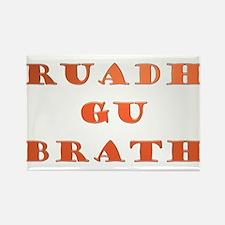 Gaelic Ruadh Gu Brath Rectangle Magnet