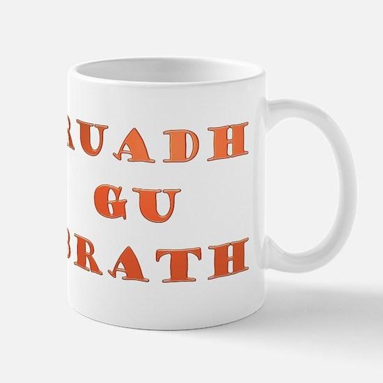 Gaelic Ruadh Gu Brath Mug