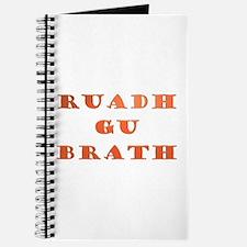 Gaelic Ruadh Gu Brath Journal