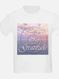Love and Gratitude T-Shirt
