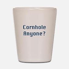 Cornhole Anyone? Shot Glass
