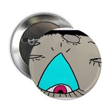 """On The Moon 2.25"""" Button"""