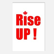 Rise UP! Postcards (Package of 8)
