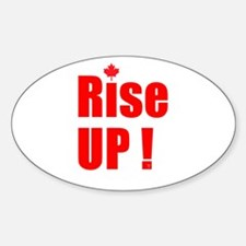 Rise UP! Sticker (Oval)