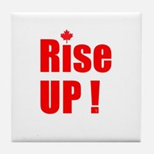 Rise UP! Tile Coaster
